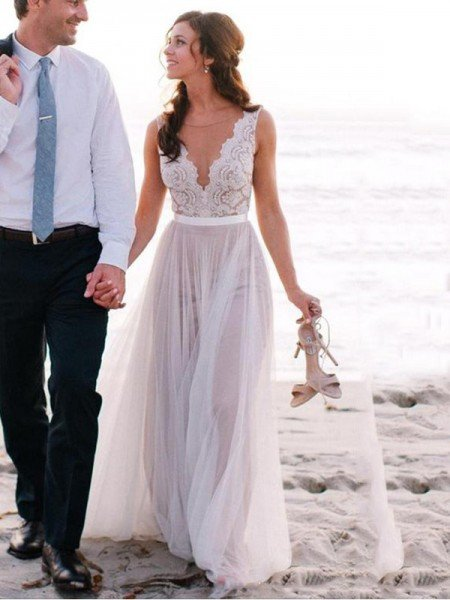 Beach Wedding Dresses Buy Cheap Beach Wedding Dresses For Bride