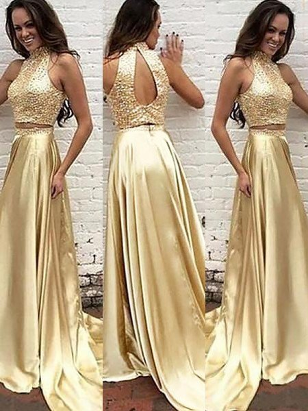 Two Piece Prom Dresses , Cheap 2 Piece Prom Dresses 2019 ... - photo #23