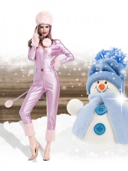 Girly Polyester With Hat Christmas Clothes