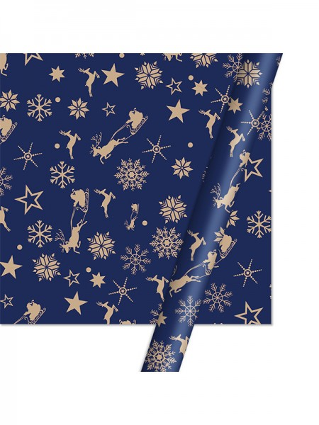 Christmas New Style Snowflake Wrapping Paper(10 Pieces)