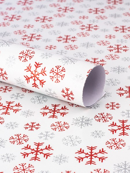 Christmas Awesome Snowflake Wrapping Paper(10 Pieces)