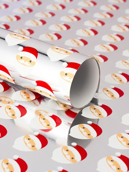 Christmas Stunning Santa Claus Wrapping Paper(10 Pieces)