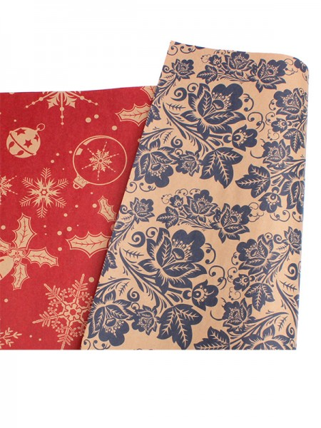 Christmas Pretty Snowflake Wrapping Paper(10 Pieces)