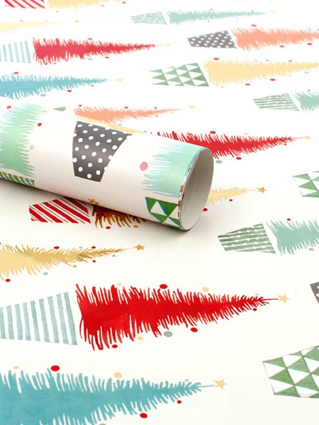 Christmas Nice Tree Wrapping Paper(10 Pieces)