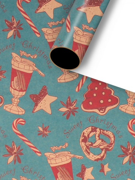 Christmas Fancy Wrapping Paper(10 Pieces)