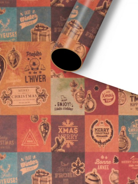 Christmas Fascinating Wrapping Paper(10 Pieces)