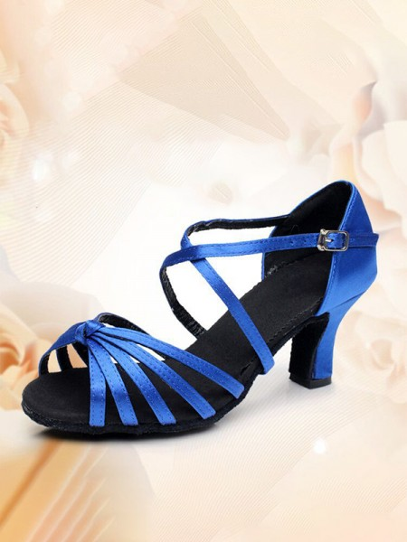 Women's Kitten Heel With Buckle PU Peep Toe Sandals