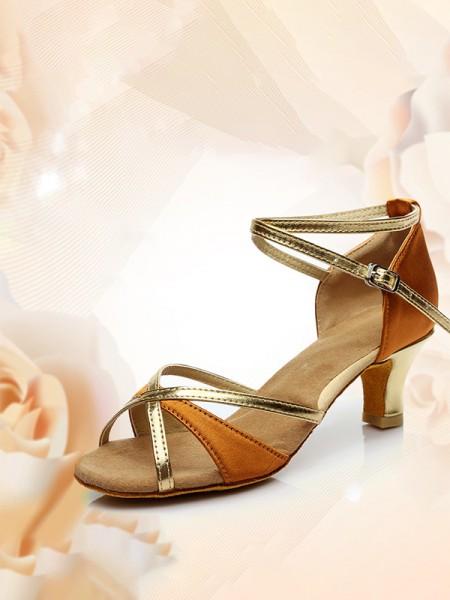 Women's Peep Toe Kitten Heel With Buckle PU Sandals