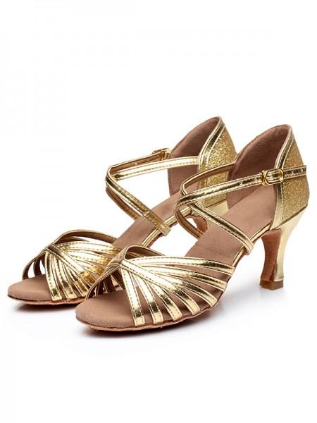 Women's Peep Toe Buckle PU Stiletto Heel Sandals