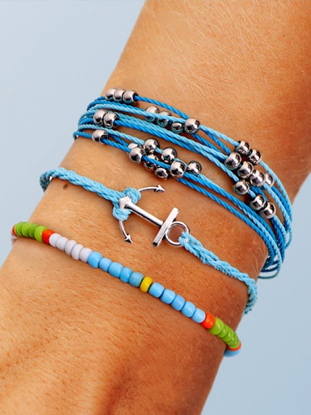 Geometric Plastics Resins Hot Sale Bracelets(3 Pieces)