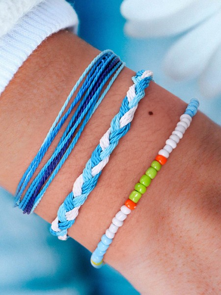 Perfect Wax Thread Hot Sale Bracelets(3 Pieces)