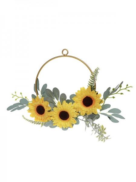 Charming Round Plastic Bridal Bouquets