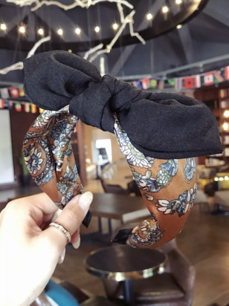 Gorgeous Cloth With Bowknot Headbands