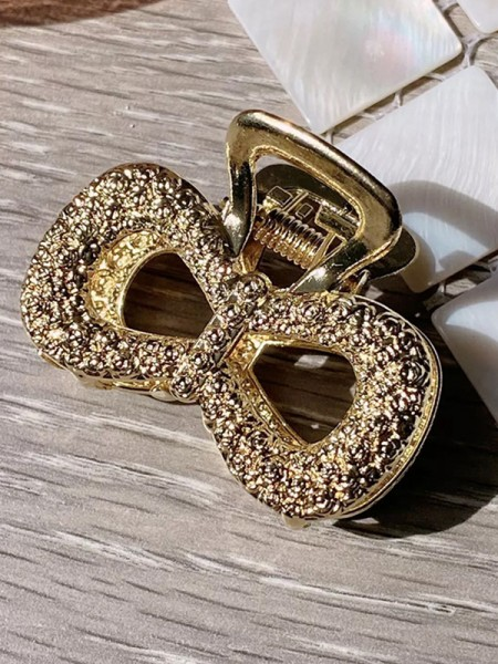 Cute Alloy With Bowknot Hair Claw