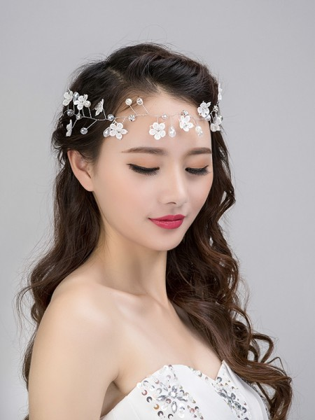 Fashionable Glass Headpieces