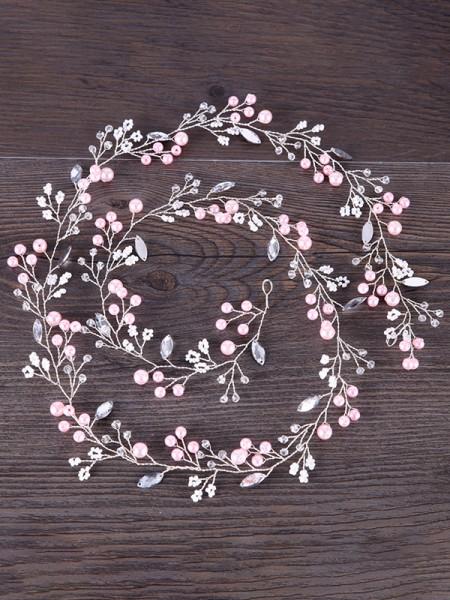 Unique Flowers Pearl Headpieces