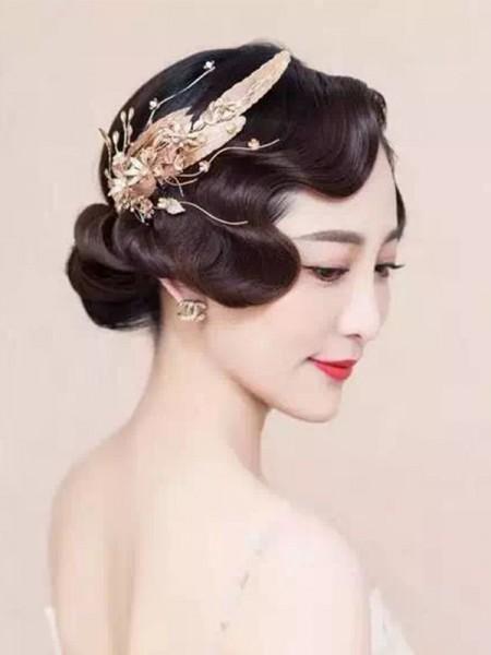 Trendy Flowers Alloy Headpieces
