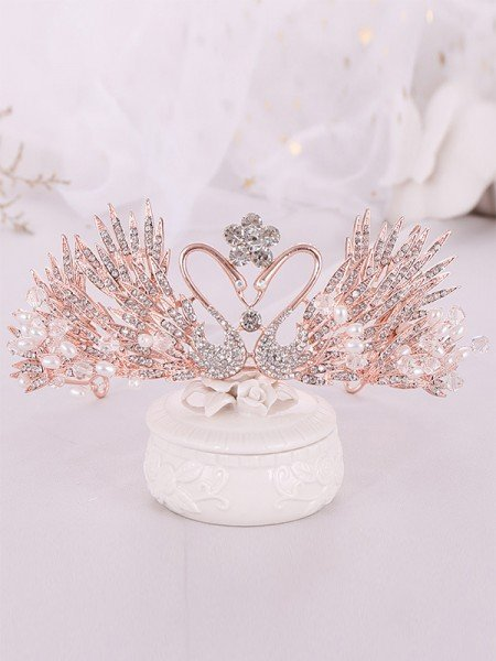 Luxurious Alloy With Rhinestone/Imitation Pearl Headpieces