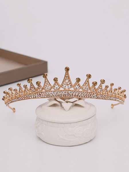 Awesome Alloy With Rhinestone Headpieces