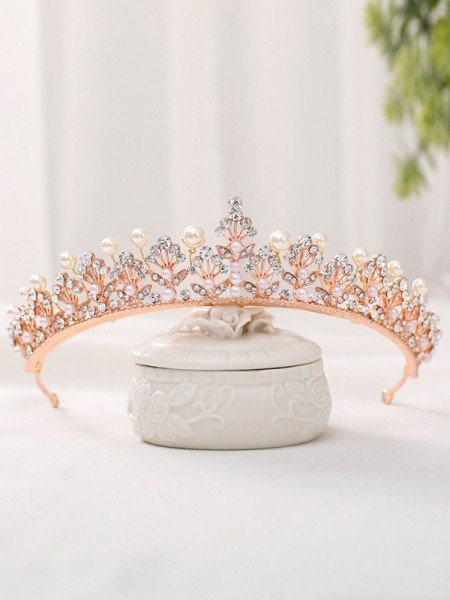 Fashion Alloy With Rhinestone/Imitation Pearl Headpieces