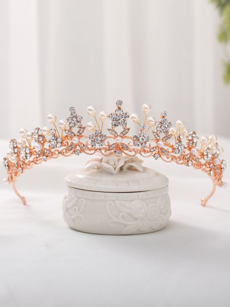 Exquisite Alloy With Rhinestone/Imitation Pearl Headpieces