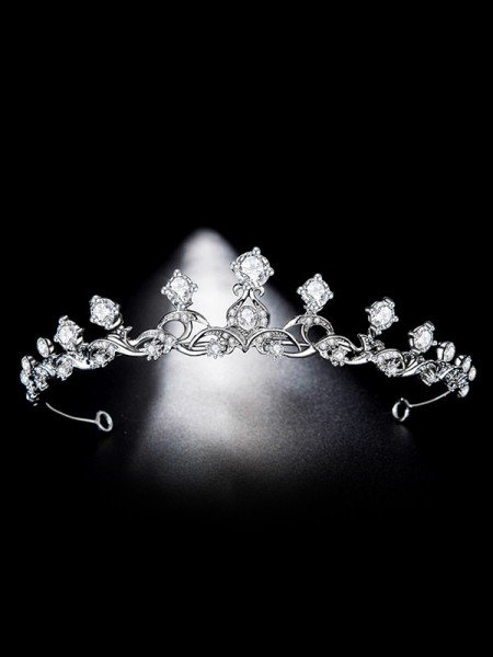 Bridal Shinning Alloy With Rhinestone Headpieces