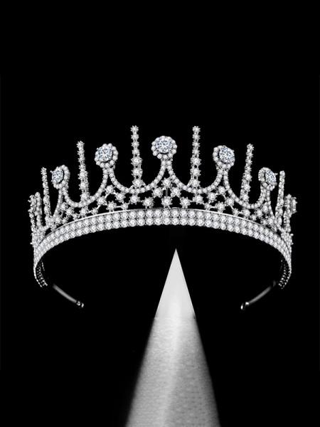 Brilliant With Rhinestone Bridal Alloy Headpieces