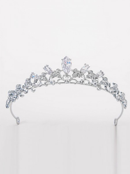 Elegant Alloy Bridal With Rhinestone Headpieces