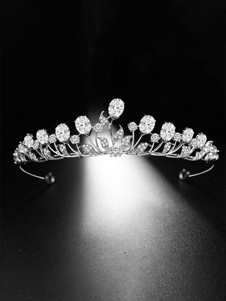 Flawless With Rhinestone Alloy Bridal Headpieces