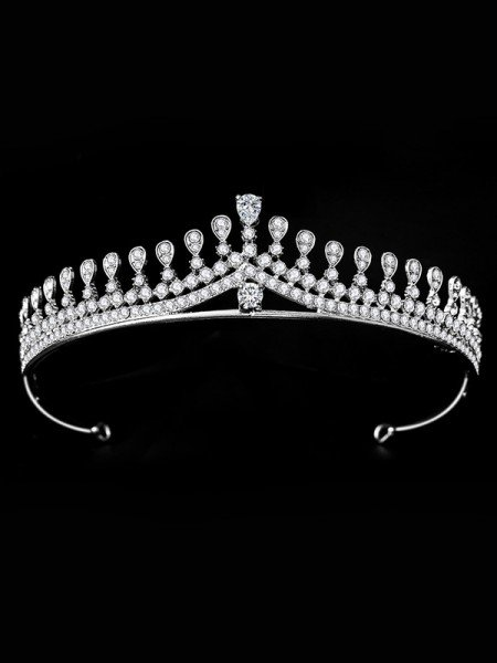 Bridal Charming Alloy With Rhinestone Headpieces