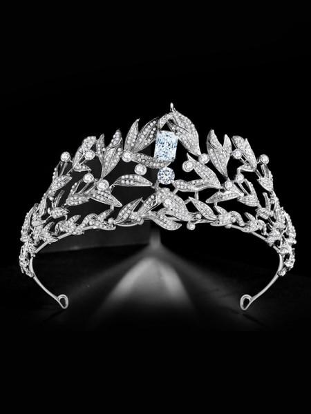 Bridal Fascinating Alloy With Rhinestone Headpieces