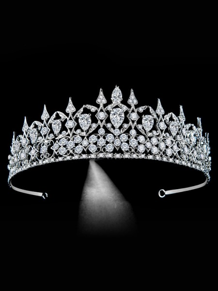 Bridal Exquisite Alloy With Rhinestone Headpieces