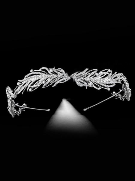 Bridal Elegant Alloy With Rhinestone Headpieces