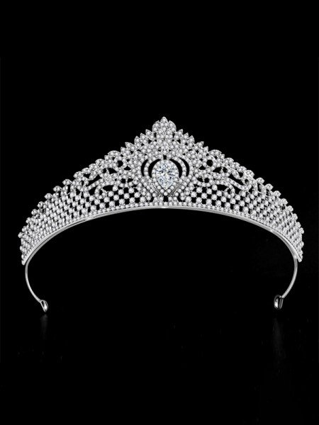 Beautiful With Rhinestone Alloy Bridal Headpieces