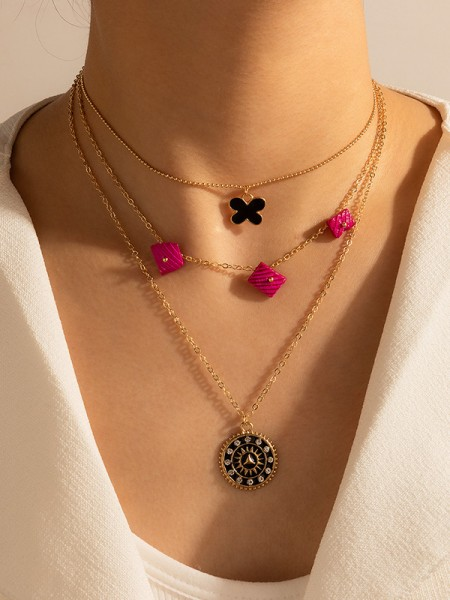 Perfect Alloy With Rhinestone Necklaces