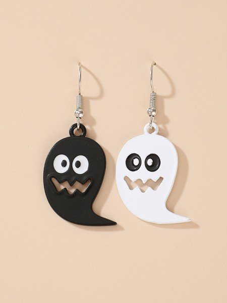 Halloween Cute Alloy With Ghost Earrings