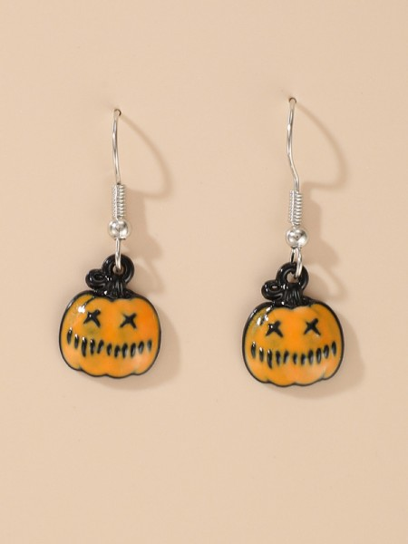 Halloween Awesome Alloy With Pumpkin Earrings