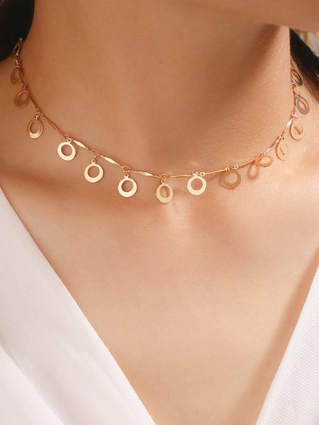 Exquisite Alloy Hot Sale Necklaces For Ladies