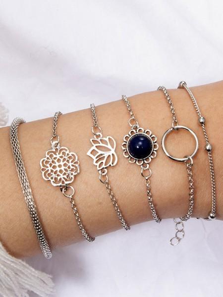 Amazing Alloy Hot Sale Bracelets(6 Pieces)