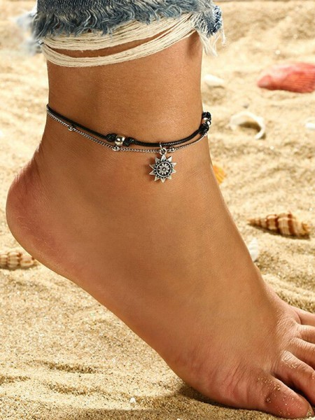 Fineness Sun Alloy Anklets