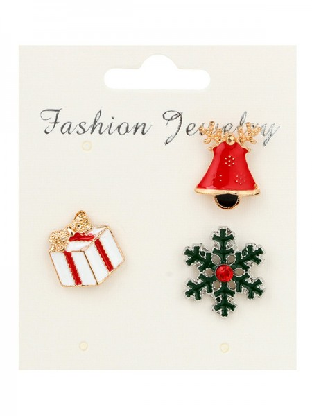 Christmas Graceful Alloy Brooches(3 Pieces)