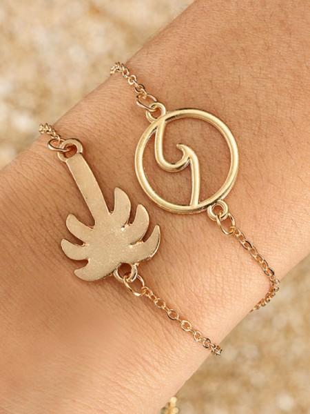 Charming Alloy Hot Sale Bracelets(2 Pieces)
