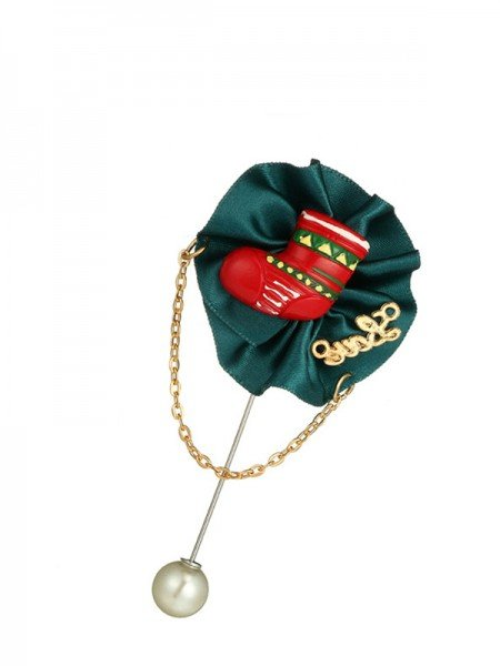Christmas New Hot Flower Alloy Brooches