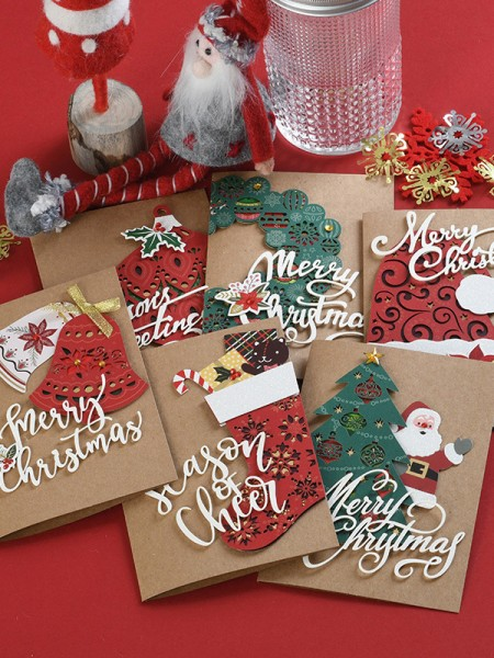 Lovely Santa Claus Christmas Cards(36 Pieces)