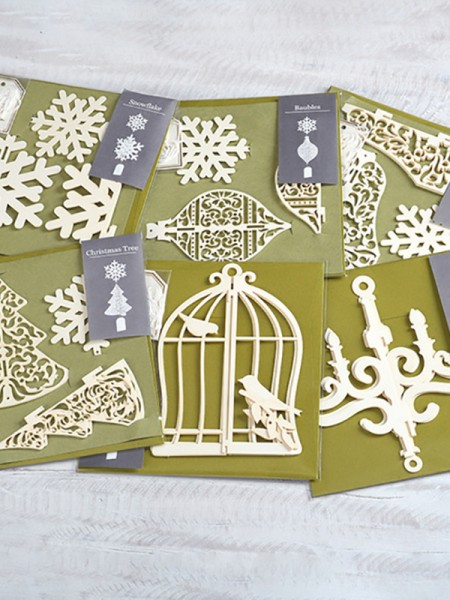 Magical Tree Christmas Cards(36 Pieces)