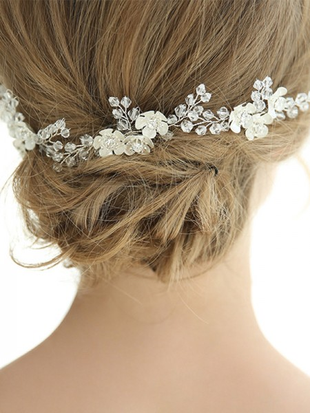 Amazing Alloy With Crystal Hairpins Headpieces