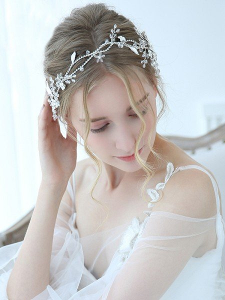 Gorgeous Alloy With Crystal Headbands Headpieces