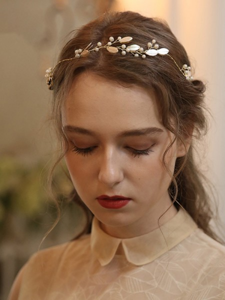 Bonny With Pearl Alloy Headbands Headpieces
