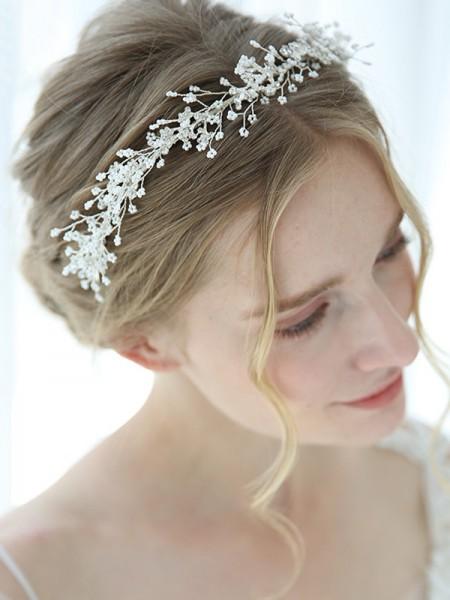 Trending Alloy With Flower Headbands Headpieces