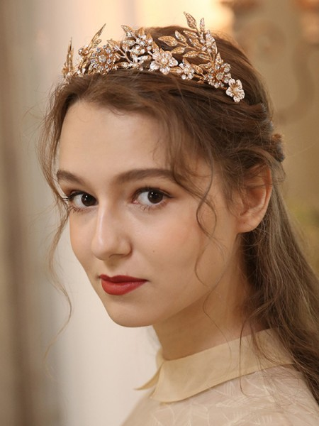 Glamorous With Pearl Alloy 4185 Headpieces